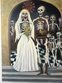La Boda (The Wedding) painting by Gary F. Duarte